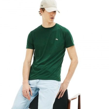 Lacoste T-Shirt Girocollo in Jersey TH6709-132