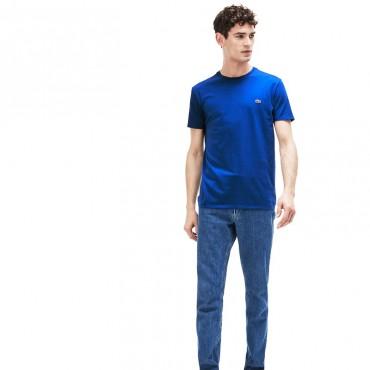 Lacoste T-Shirt Girocollo in Jersey TH6709-Z7Z